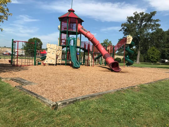Utica's Grant Park is where a man was stabbed to death on Saturday, Sept. 1, 2018, at his grandchild's birthday party.