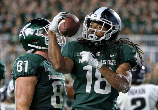 14. Michigan State | Last game: Defeated Utah State, 38-31 | Preseason ranking: 11