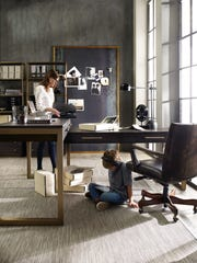 If you have a designated room in your home for an office, use it to express your style.