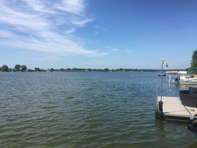 Investigators are trying to pinpoint the source of a fuel spill that polluted the waters of Sylvan Lake in Oakland County over Labor Day weekend. The spill was no longer visible on Tuesday, Sept. 4, 2018.