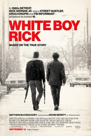 Poster for 'White Boy Rick,' which opens in theaters Sept. 14, 2018.