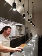 Ex-Torino chef Garrett Lipar debuted his eight-seat tasting counter, Albena, inside The Siren Hotel in Detroit August 24.
