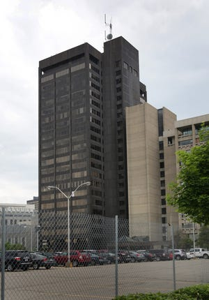 The Executive Plaza Building in Detroit