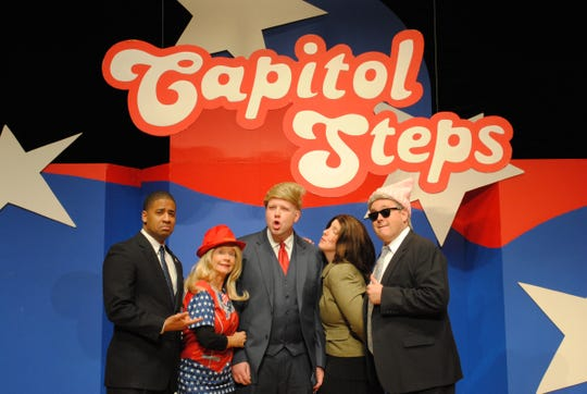 """Make America Grin Again"" is the new album from the Capitol Steps."