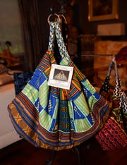 A west african village bag.
