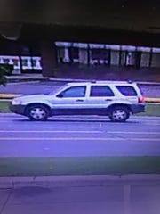 Clinton Township Police are looking for this vehicle in connection with an attempted sexual assault that happened Sunday.