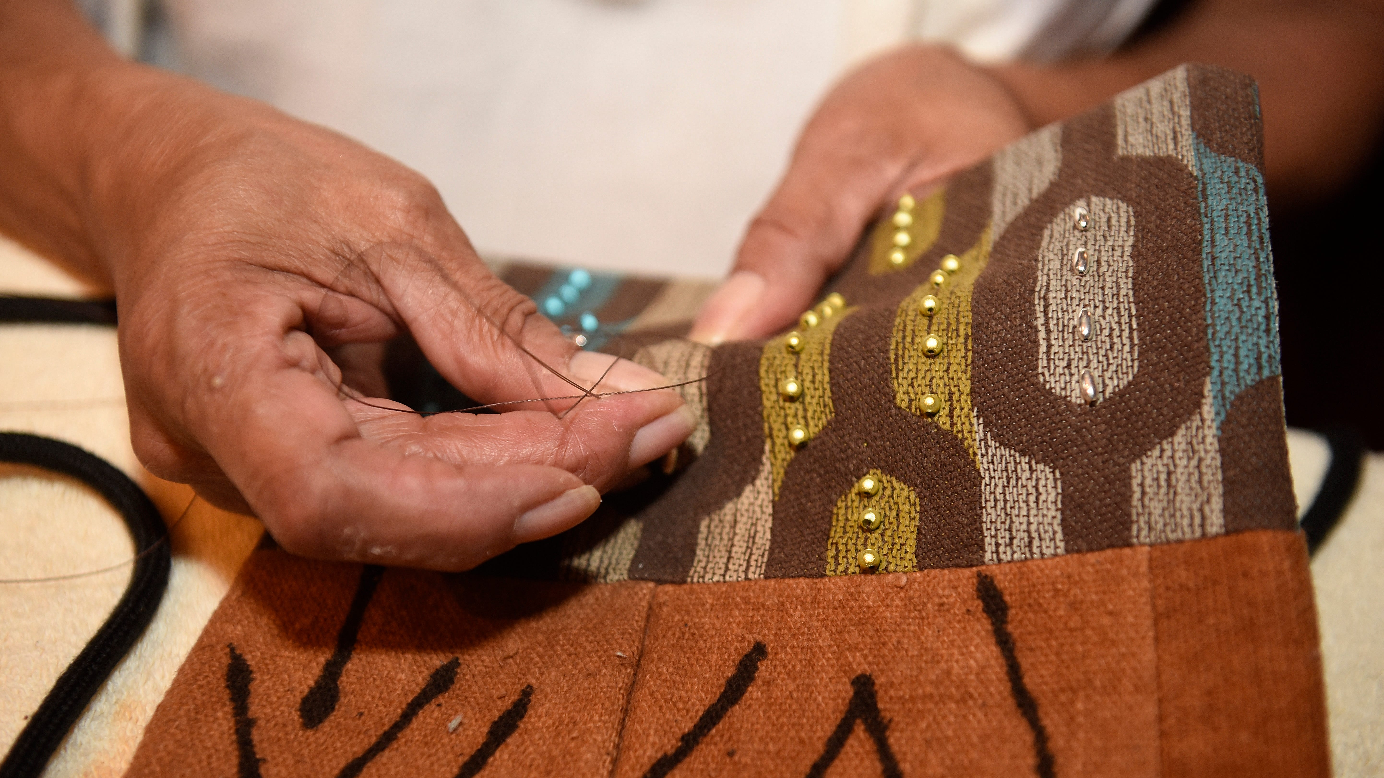 Handmade: It's all in the bag for accessories designer