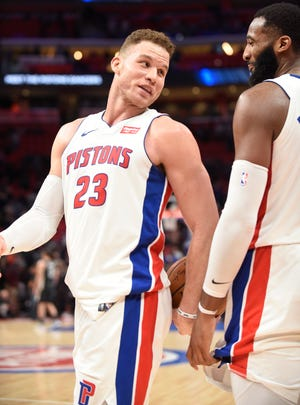 The Pistons' success next season could hinge largely on Blake Griffin's first full season.