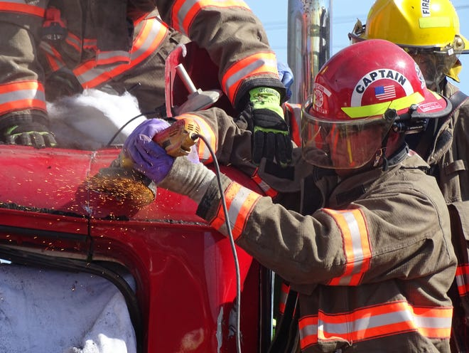 The Lindsey Volunteer Fire Department could get new protective equipment if the department accepts a $109,000 FEMA grant it has been awarded.
