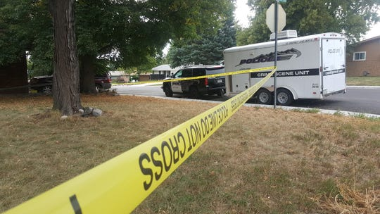 Loveland Police taped off the scene of a fatal shooting that left a 17-year-old-boy dead and one 18-year-old male suspect in custody. No charges were filed as of Tuesday morning, according to police.