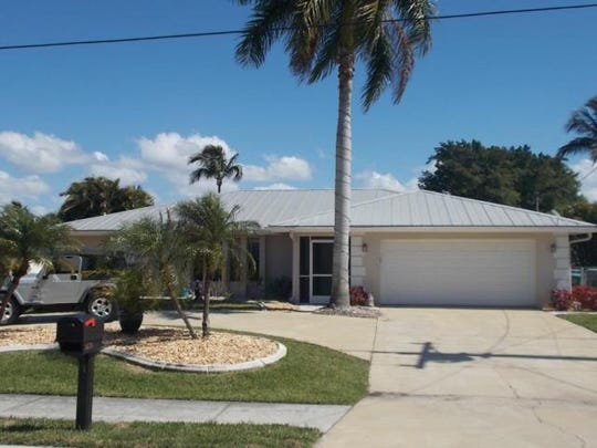 This home at 5215 Pelican Blvd., Cape Coral, recently sold for $455,000.