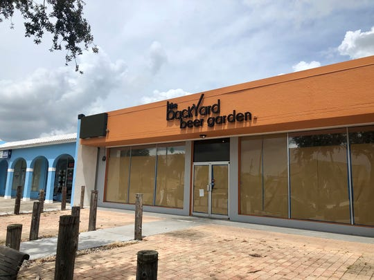 Backyard Beer Garden is under construction in south Cape Coral.