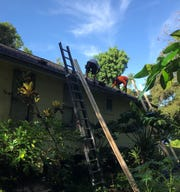 At last! Almost a year after Hurricane Irma, we're getting a new roof.