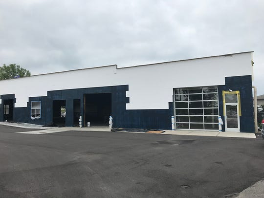 The former Manhattan Lanes building on Honey Court, in De Pere, has been converted into a strip center.