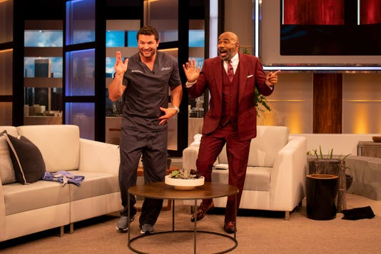 Image Dr Constantine And Steve Harvey Dance