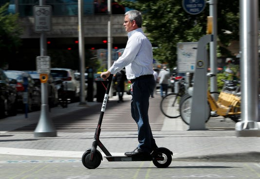 The Bird And Lime Scooters Are Back On Downtown Streets