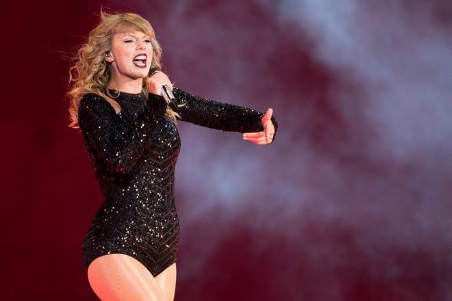 Taylor Swift will perform Sept. 15 at Lucas Oil Stadium.