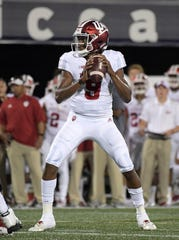 Hoosiers quarterback Michael Penix Jr. led IU to a touchdown and field goal in his two drives against FIU.