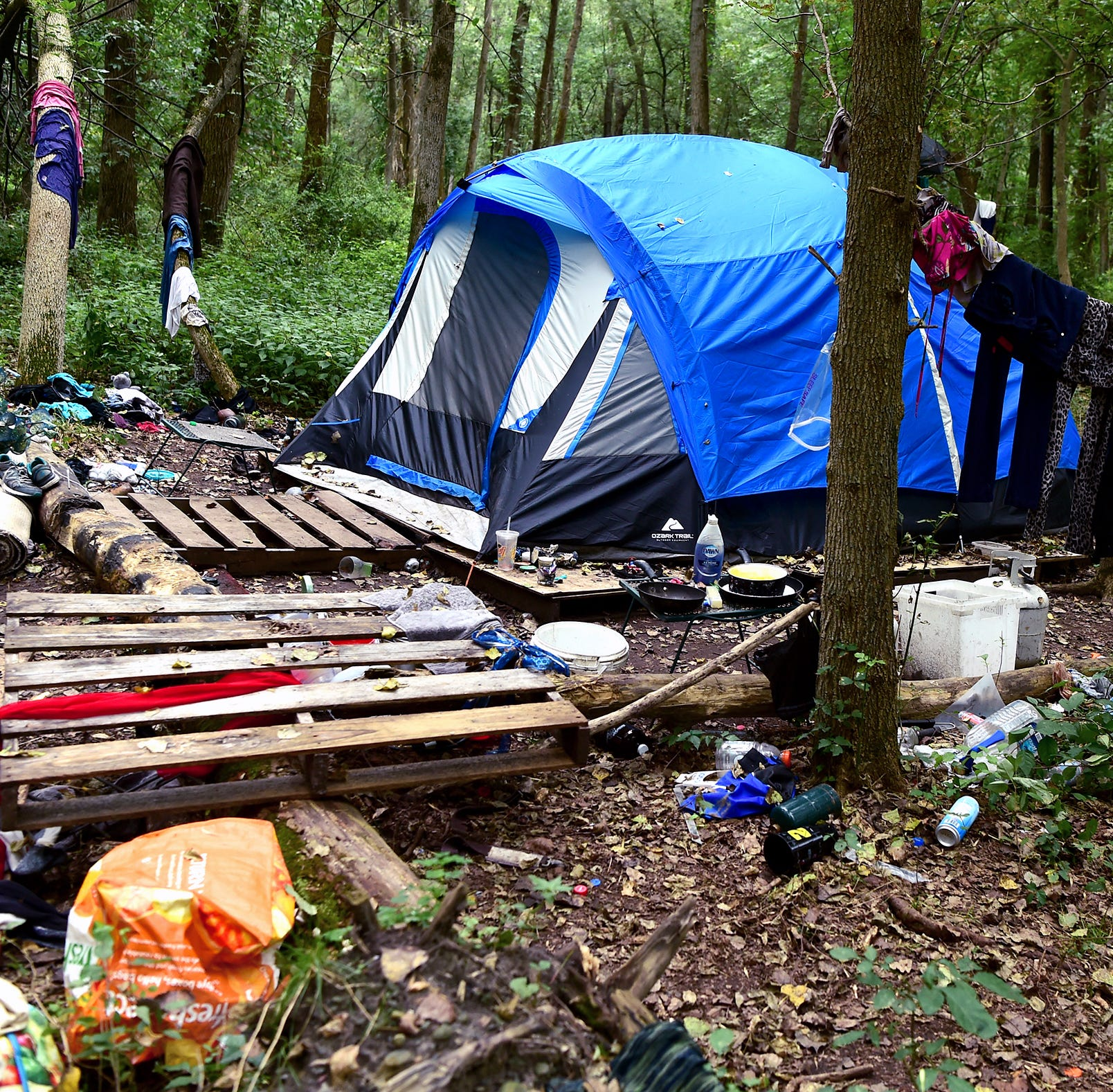 Two fires being investigated at Ithaca's homeless camp, The Jungle