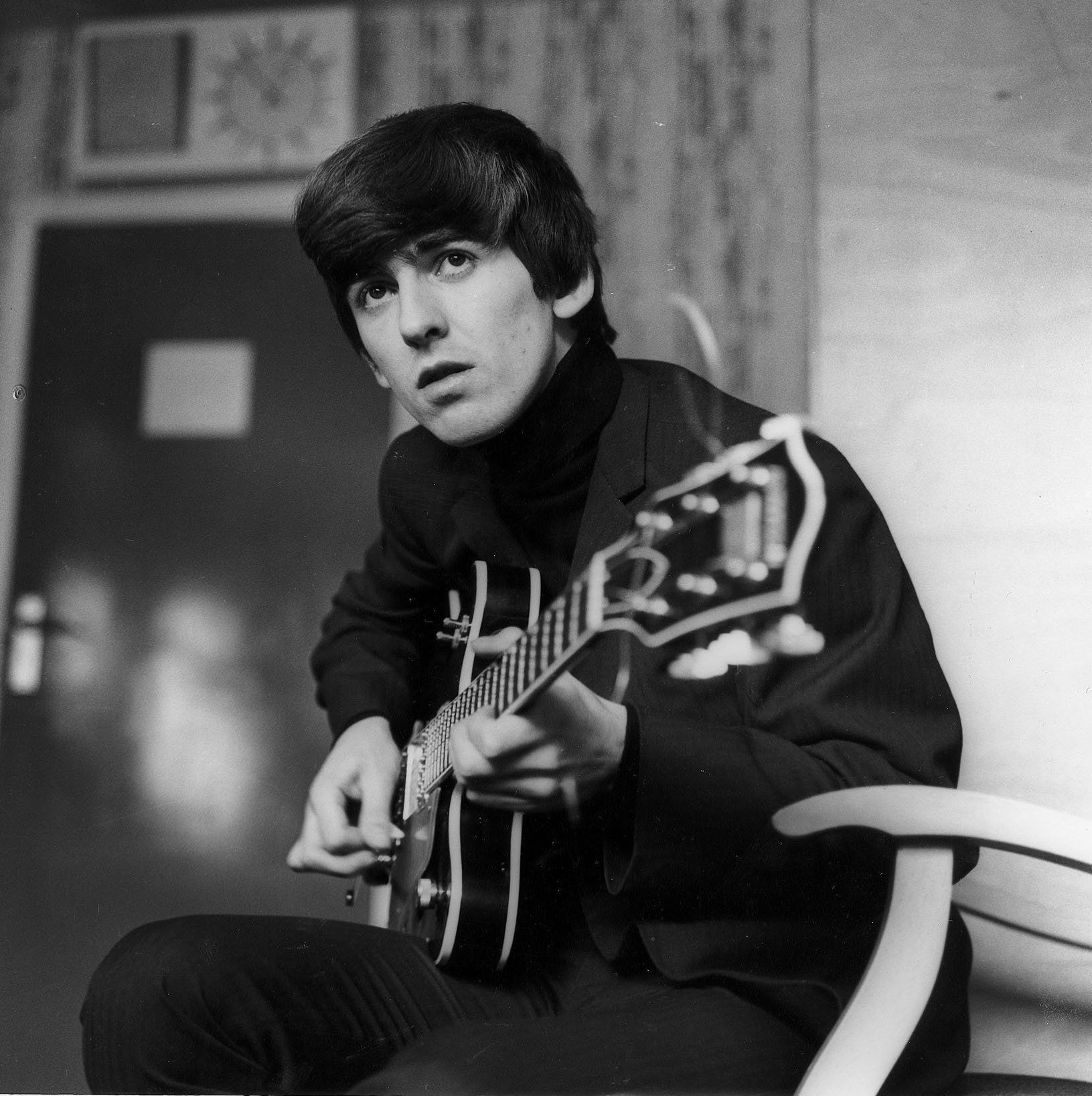 Always a Beatles fanatic, these days, Robert St. John gravitates toward George Harrison for many reasons.