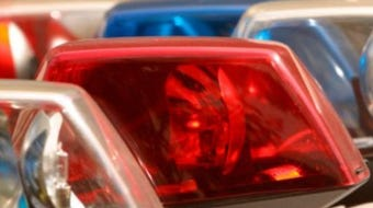 Madison County Sheriff's deputies were in pursuit of a vehicle with at least one punctured tire around 1 p.m. Tuesday.