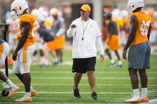 reputable site 8ccc1 c1d9d UT Vols football vs ETSU: Phillip Fulmer had hand in Bucs return