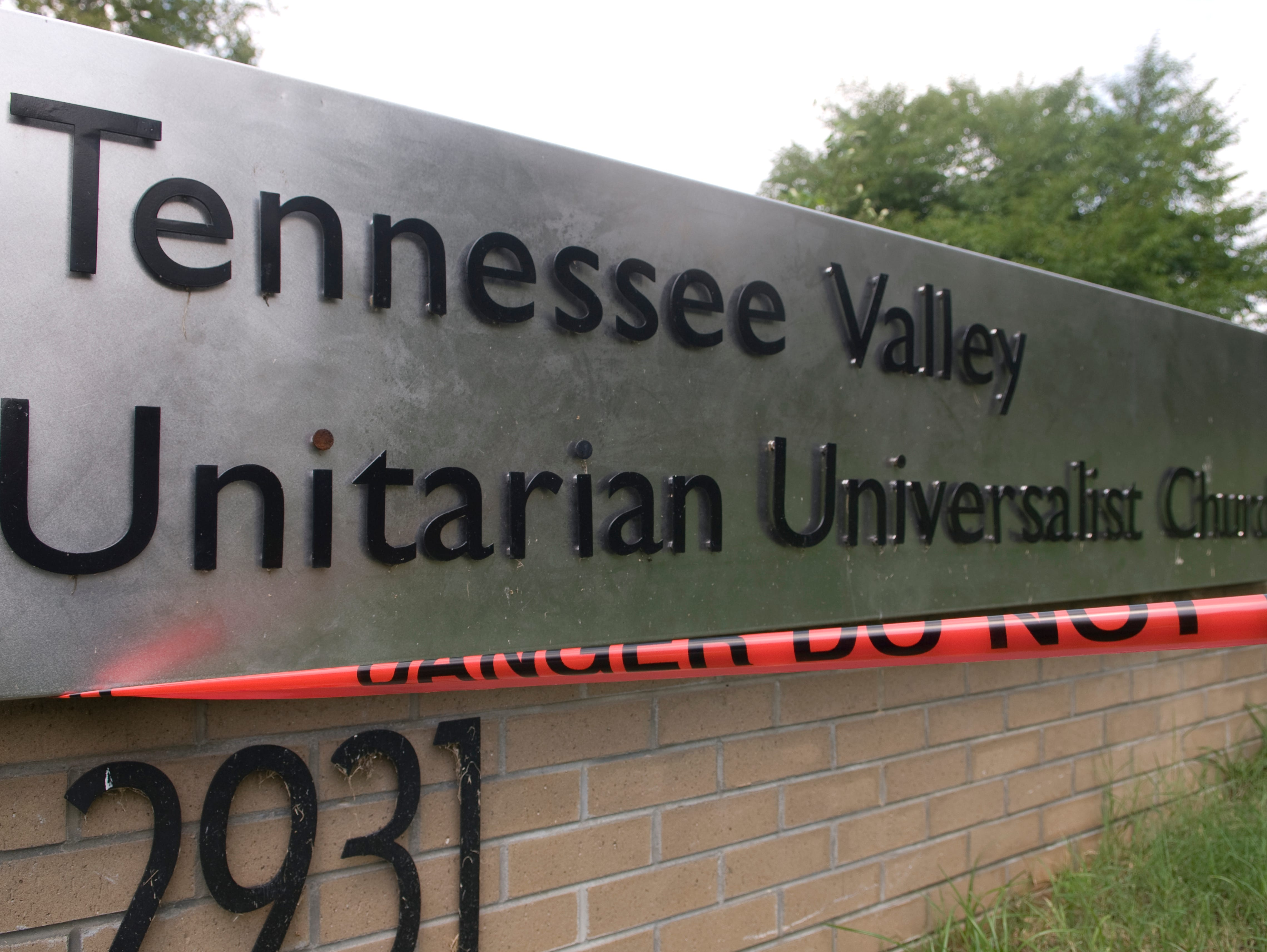 A gunman entered the Tennessee Valley Unitarian Universalist Church in Knoxville, TN Sunday, July 27, 2008, and opened fire, injuring several of the congregation.