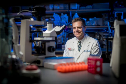 Dr. James Crowe helped develop a technique for producing norovirus antibodies, which can be used for research towards a vaccine.