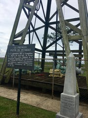 Louisiana Oil & Gas Park and Jeff Davis Parish Tourist Information Center showcase, a fishing pond, an Acadian home replica and historical markers representing the parish's connection to the industry.