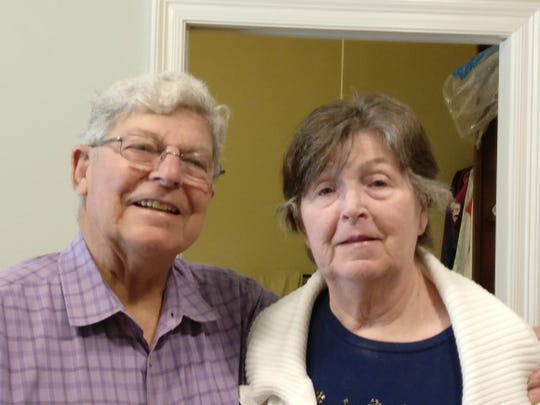 Paul and Beverly Mire's daughter, Paula Sarver, has written a book chronicling her mother's journey with Alzheimer's based on Mire's journals dating back decades.