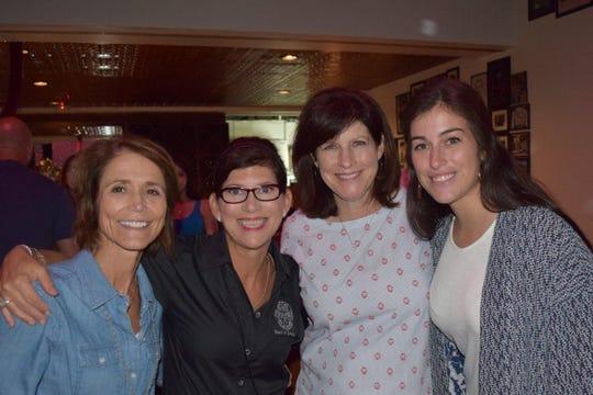 Melissa Bienvenu, Renee Reaux, Julie Dronet and Natalie Weaver