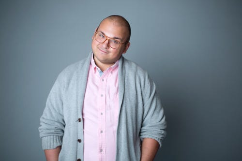 Writer and comedian Stavros Halkias will perform Sept. 14 at The Wurst Biergarten.