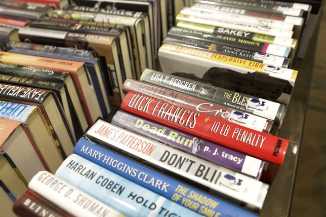 Hundreds of books will be available at the Friends of the Lafayette Public Library fall sale.