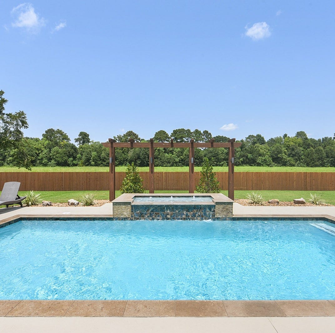 See the jaw dropping pool at this Youngsville estate