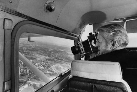 CJ photographer and pilot Billy Davis scouts his prey