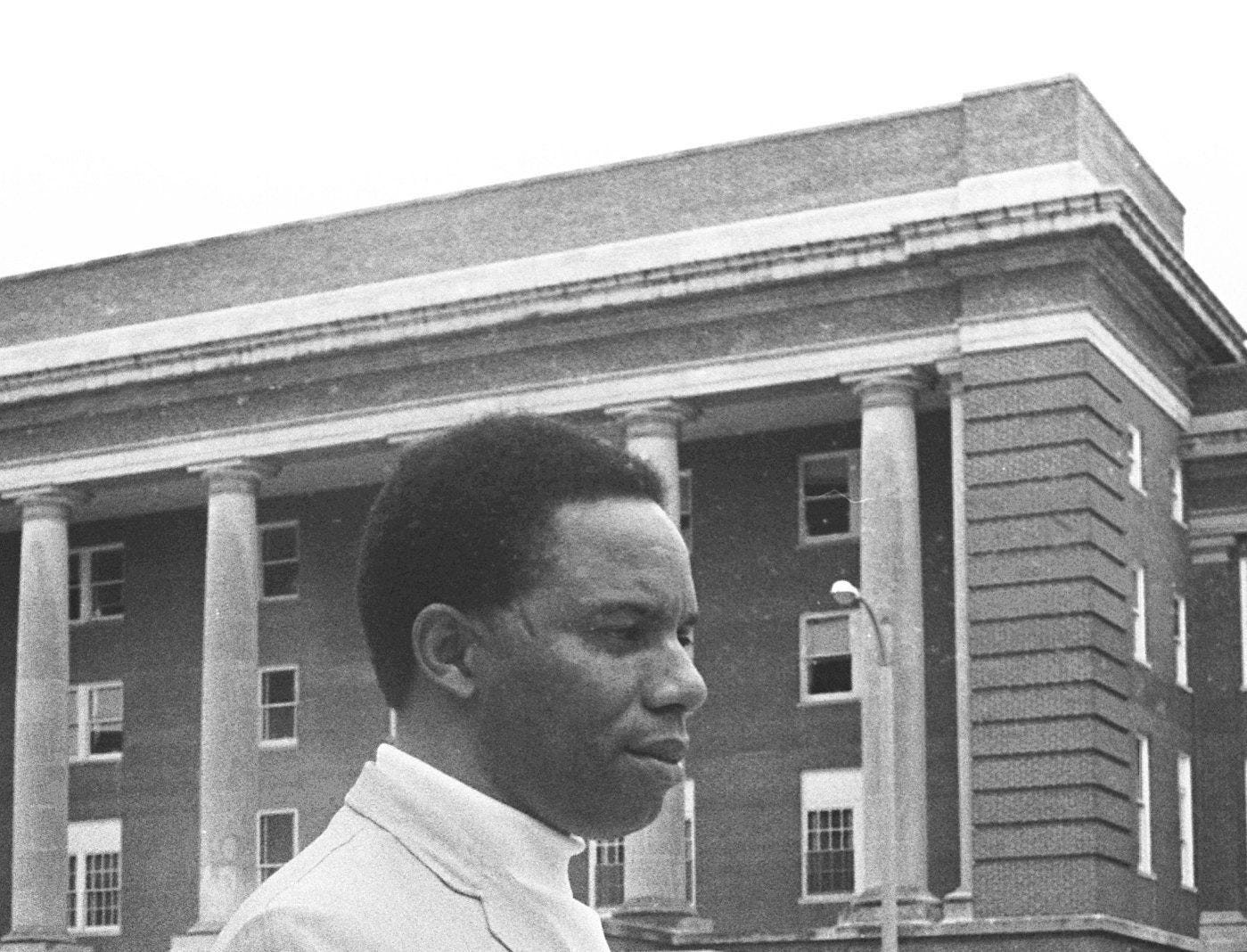 Ernest K. Davis, a former teacher at Riverview Junior High School, was named Memphis State University's first dean of Student Relations on  June 23, 1969.