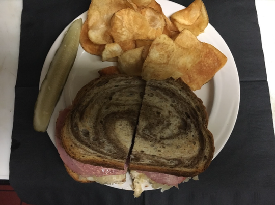 Grill 164 serves up a variety of favorites including steaks and seafood, broasted chicken, pan-fried walleye, burgers and sandwiches.