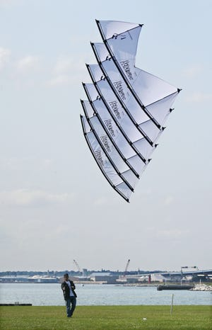 Keep watching the skies at Veterans Park this weekend for the Frank Mots International Kites Festival.