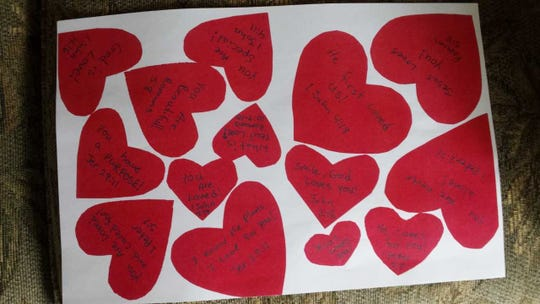 Valentine's Day cards with Bible verses are at the heart of a federal lawsuit filed Tuesday against Northeast Wisconsin Technical College by a student.