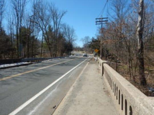 Valley Road bridge span between Long Hill and Bernards Township.