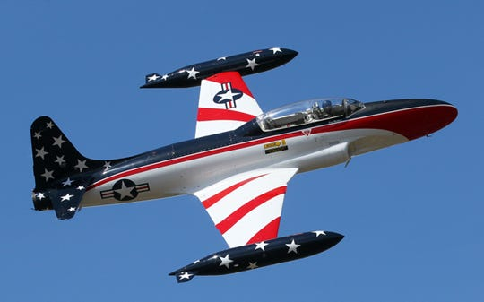 The T-33 Shooting Star is a subsonic American jet trainer aircraft.