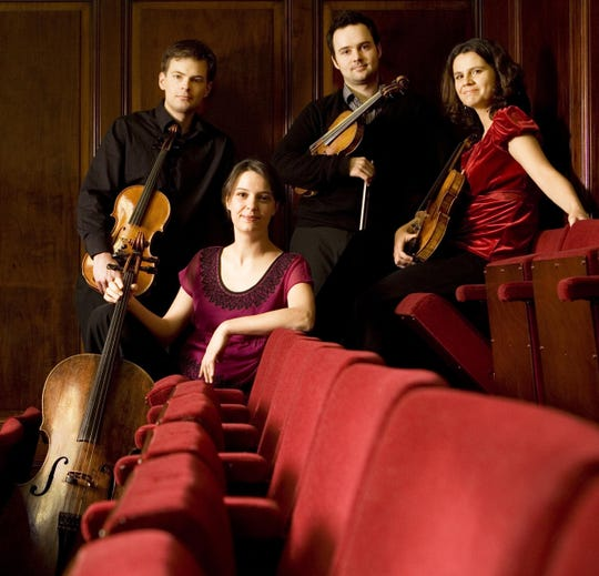 The Elias String Quartet will perform March 21, 2019, at the Montgomery Museum of Fine Arts  for the Montgomery Chamber Music Organization.