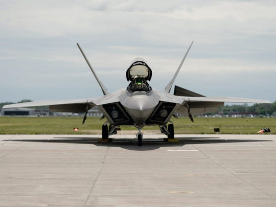 The F-22 Raptor is a fifth-generation, single-seat, twin-engine, all-weather stealth tactical fighter aircraft.