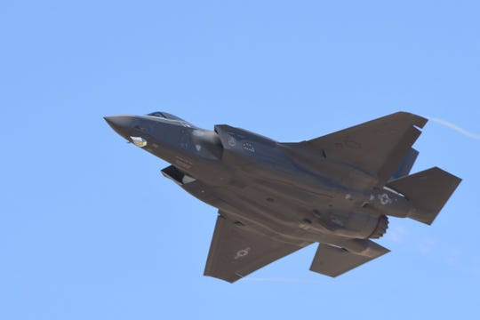The F-35 Lightning II is a family of single-seat, single-engined, all-weather stealth multirole fighters. The fifth-generation combat aircraft is designed to perform ground-attack and air-superiority missions.