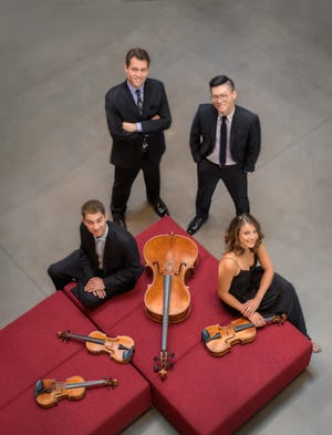 The Dover Quartet will perform Oct. 11 at the Montgomery Museum of Fine Arts  for the Montgomery Chamber Music Organization.