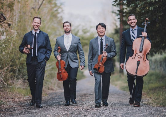 Miro Quartet will perform May 5, 2019, at the Montgomery Museum of Fine Arts  for the Montgomery Chamber Music Organization.