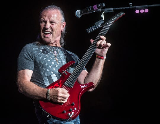 Mark Farner's American Band rocked the Montgomery Performing Arts Centre on Saturday, Aug. 18, 2018.