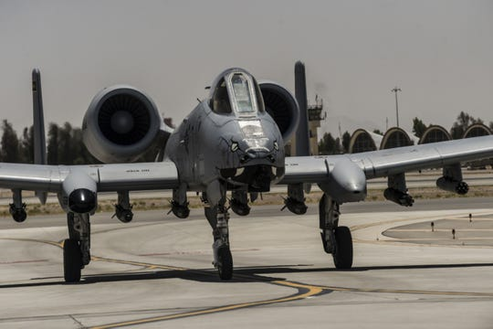 The Fairchild Republic A-10 Thunderbolt II is a single-seat, twin turbofan engine, straight wing jet aircraft developed by Fairchild-Republic for the United States Air Force.