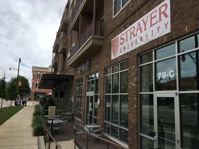 Strayer University plans to open its first Montgomery campus later this month at 79 Commerce St.