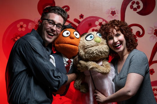 AVENUE Q, Nashville Repertory Theatre's production of the emo-rock musical.